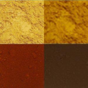 Pigments terres naturelles