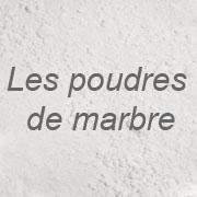 Poudres de marbre