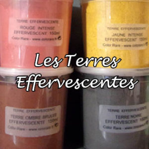 terres effervescentes color rare