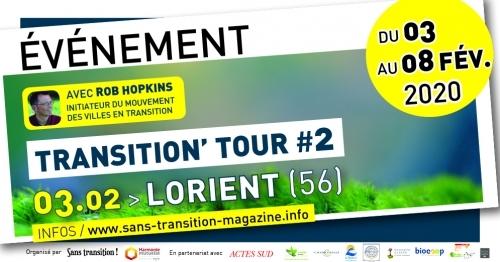 Rob Hopkins à Lorient