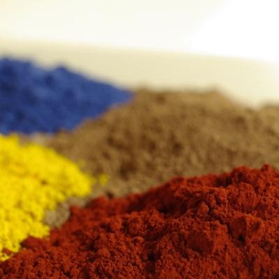 pigments, charges et adjuvants