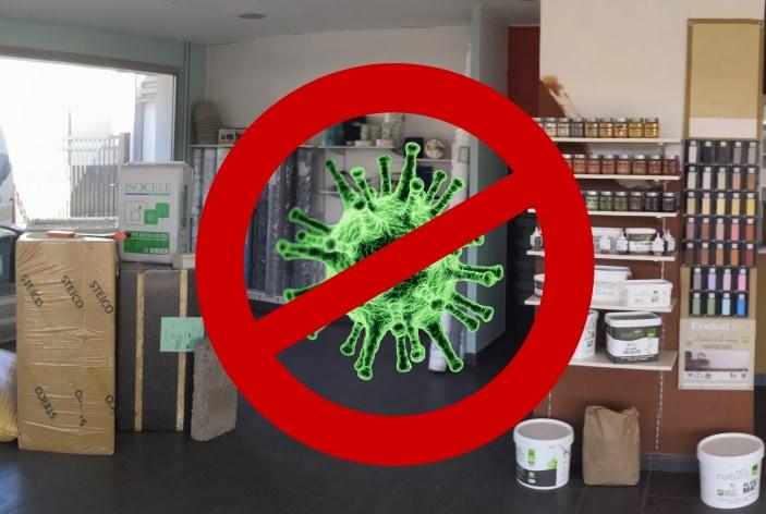 Confinement : nos magasins restent ouverts