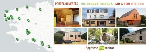 Portes ouvertes sur l'écohabitat en Bretagne