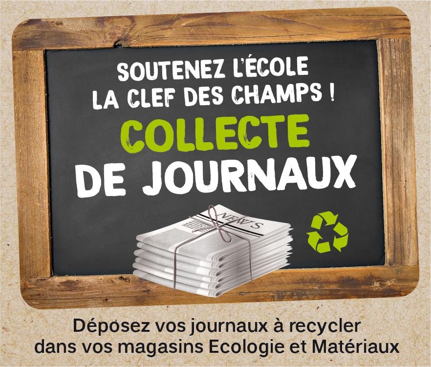 Opération recyclage des journaux