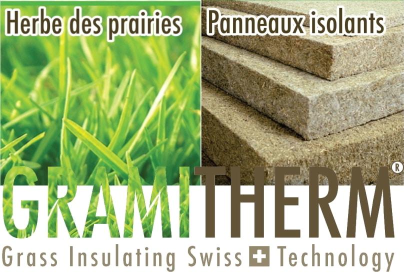 GRAMITHERM : un isolant à base d'herbe